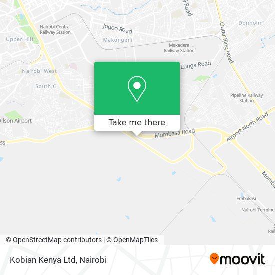 Kobian Kenya Ltd map