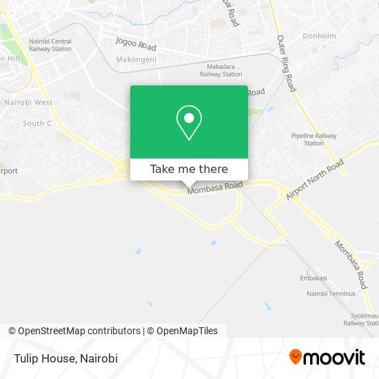 Tulip House map