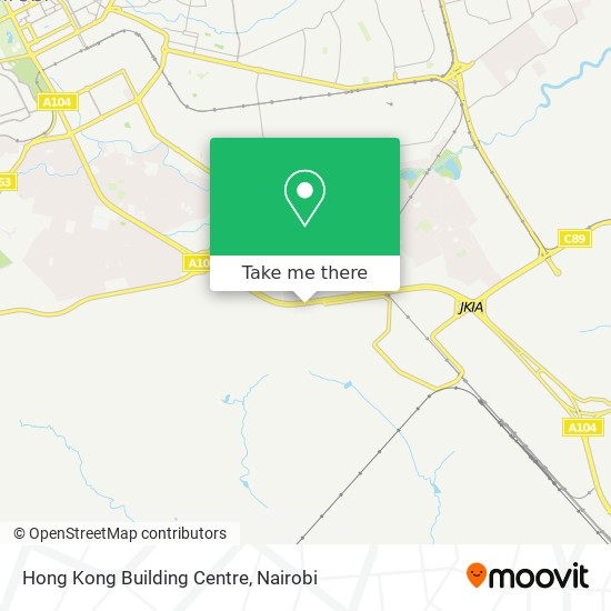 Hong Kong Building Centre map