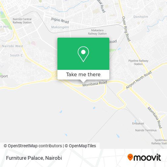 Furniture Palace map