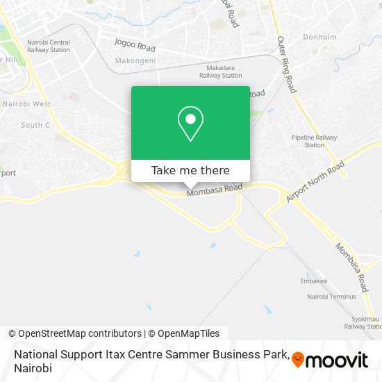 National Support Itax Centre Sammer Business Park map