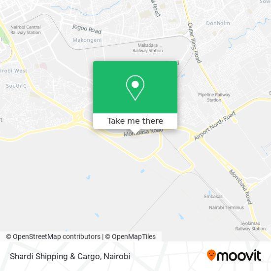 Shardi Shipping & Cargo map