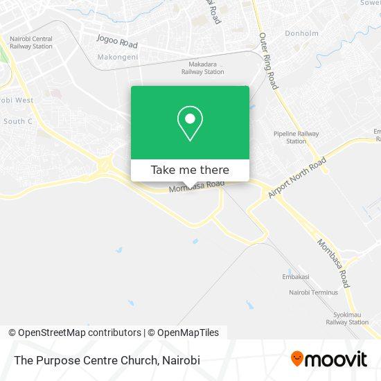 The Purpose Centre Church map