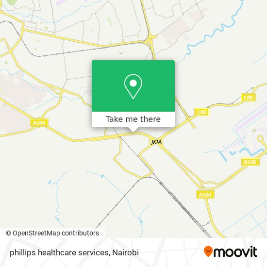 phillips healthcare services map