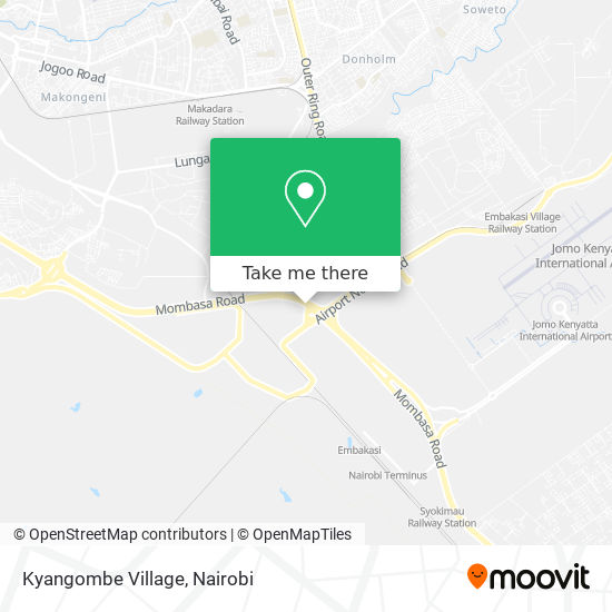 Kyangombe Village map