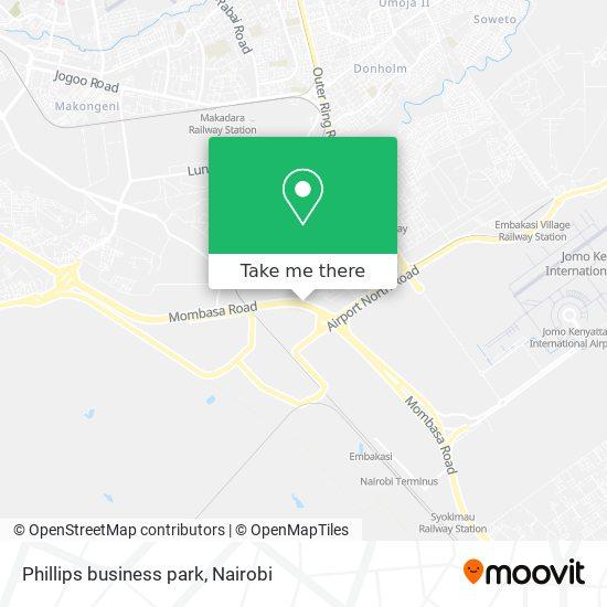 Phillips business park map