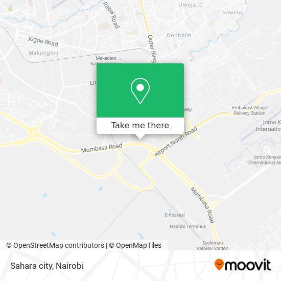 Sahara city map