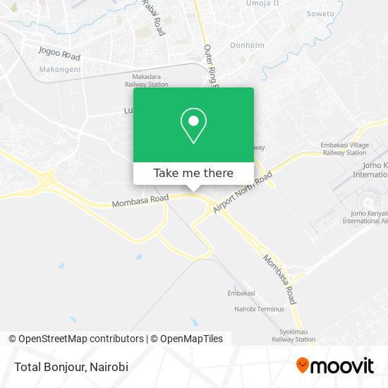 Total Bonjour map