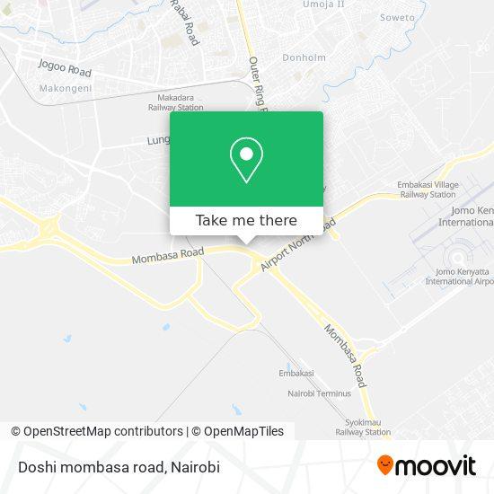 Doshi mombasa road map