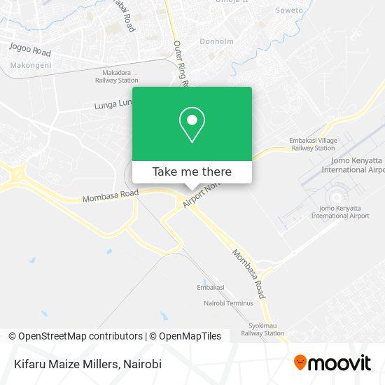 Kifaru  Maize Millers map