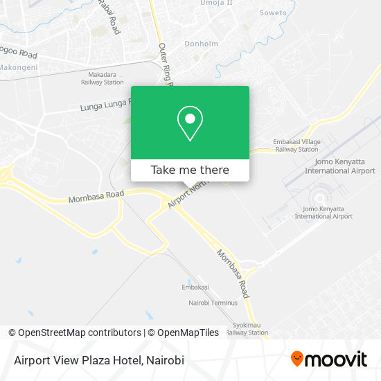Airport View Plaza Hotel map