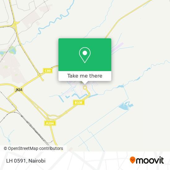 LH 0591 map