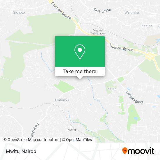 Mwitu map
