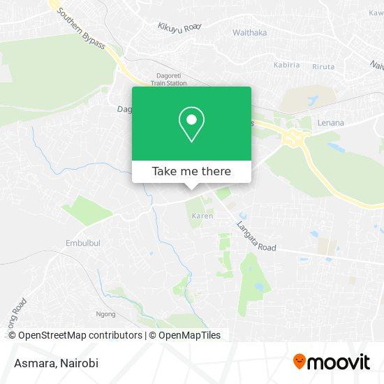 Asmara map