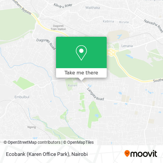 Ecobank (Karen Office Park) map