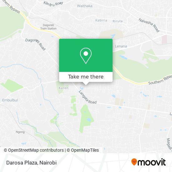 Darosa Plaza map