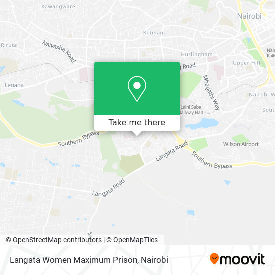 Langata Women Maximum Prison map