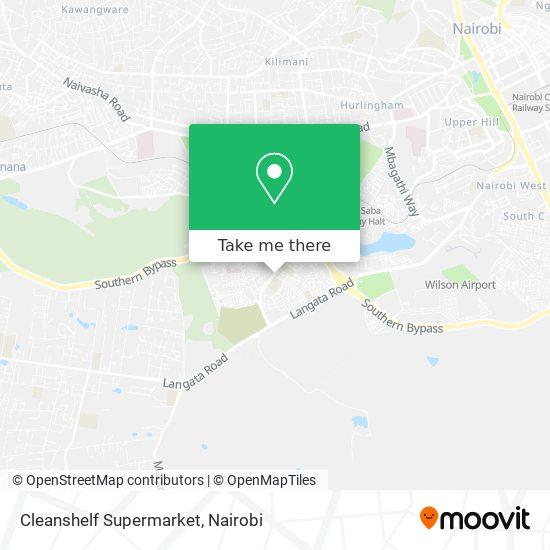 Cleanshelf Supermarket map