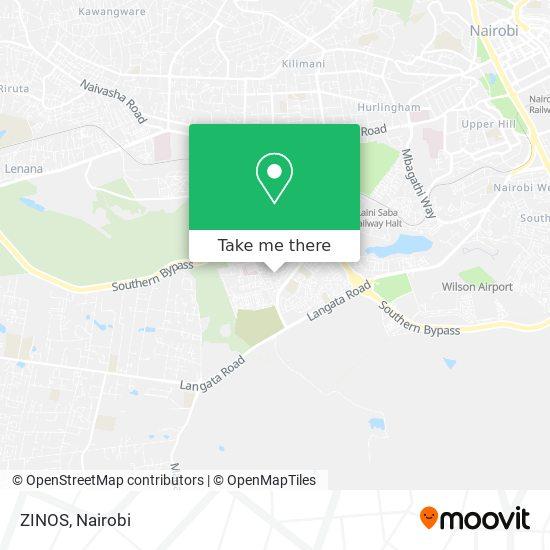 ZINOS map