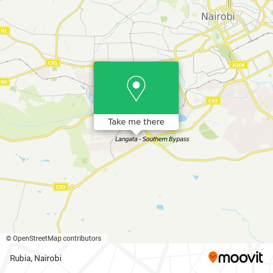 Rubia map