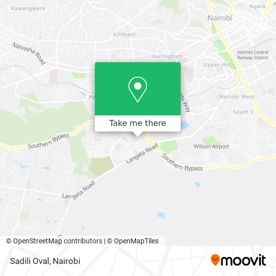 Sadili Oval map