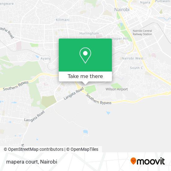 mapera court map