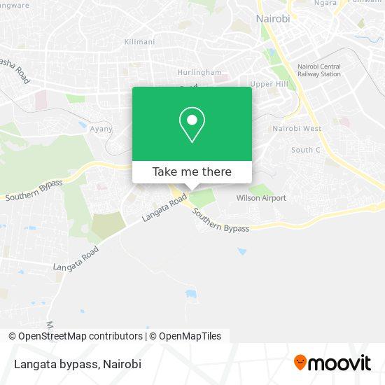 Langata bypass map