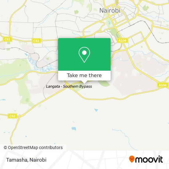 Tamasha map