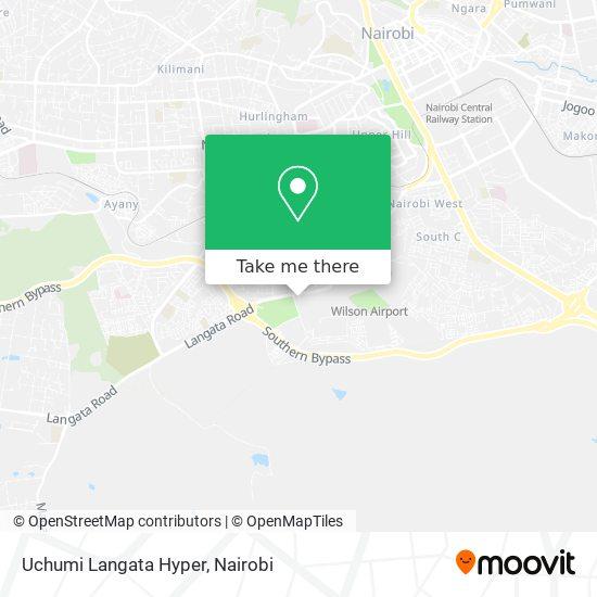 Uchumi Langata Hyper map