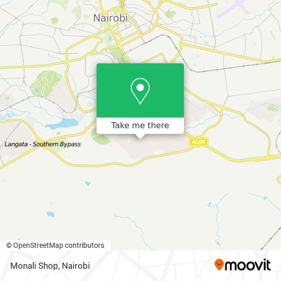 Monali Shop map