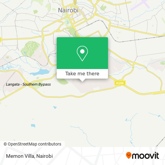 Memon Villa map