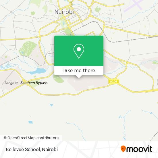 Bellevue School map