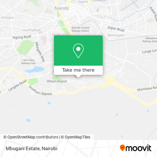 Mbugani Estate map