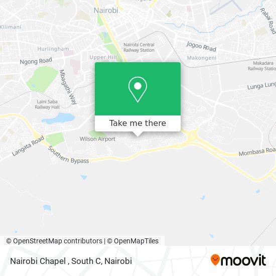 Nairobi Chapel , South C map