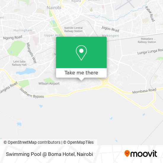 Swimming Pool @ Boma Hotel map