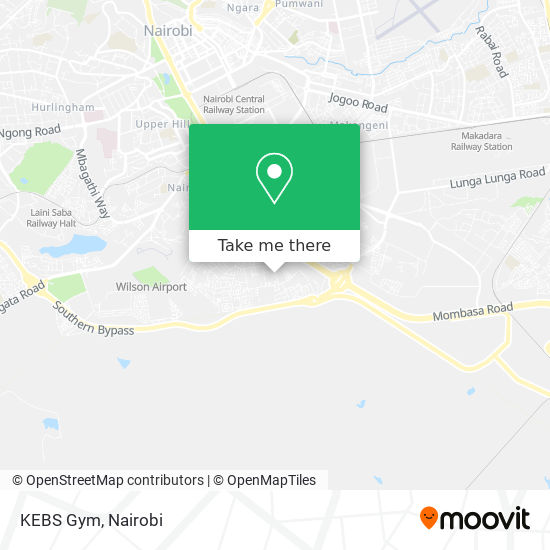 KEBS Gym map