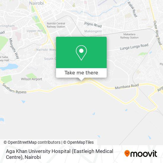 Aga Khan University Hospital (Eastleigh Medical Centre) map