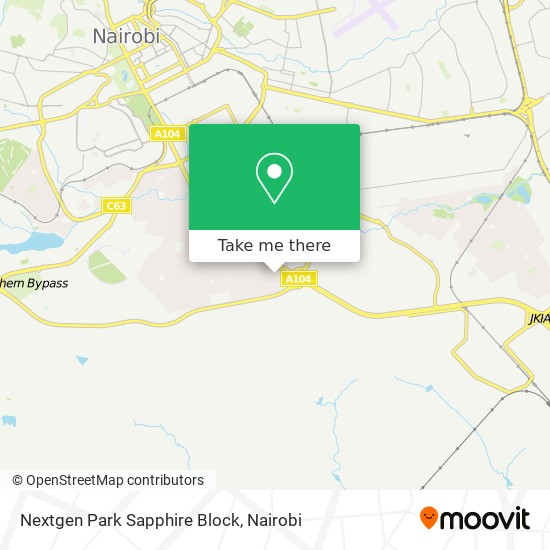 Nextgen Park Sapphire Block map