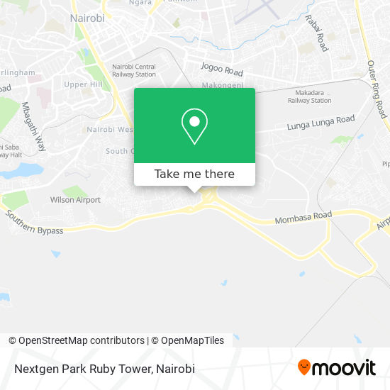 Nextgen Park Ruby Tower map