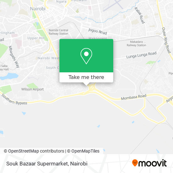Souk Bazaar Supermarket map
