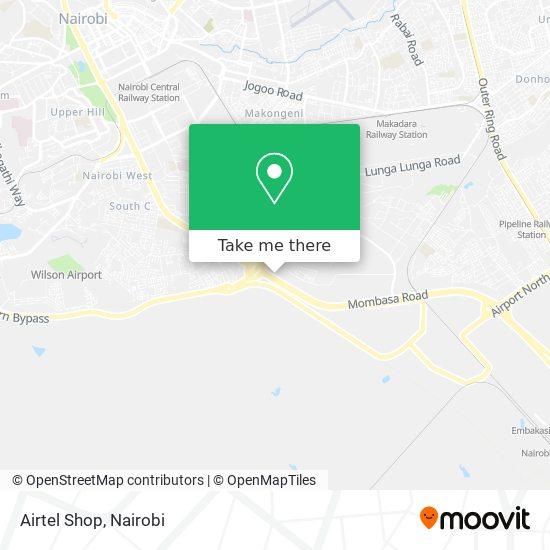 Airtel Shop map