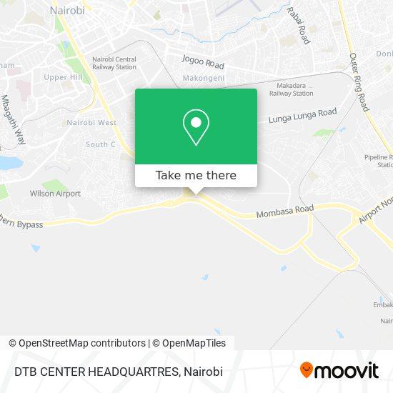 DTB CENTER HEADQUARTRES map