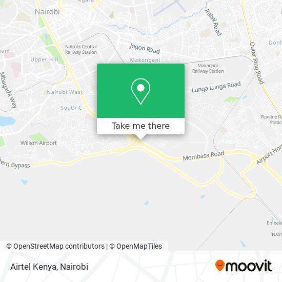 Airtel Kenya map