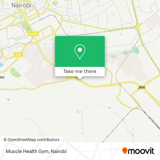 Muscle Health Gym map