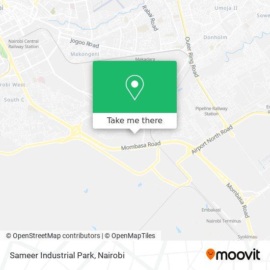 Sameer Industrial Park map