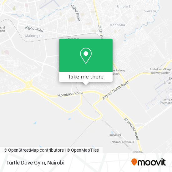 Turtle Dove Gym map