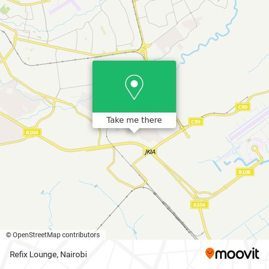 Refix Lounge map