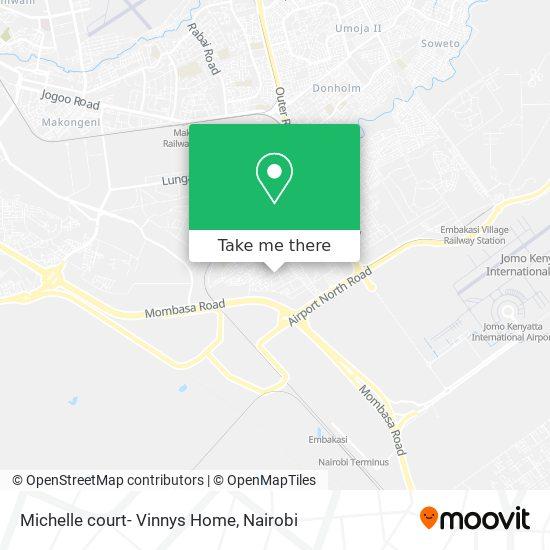 Michelle court- Vinnys Home map