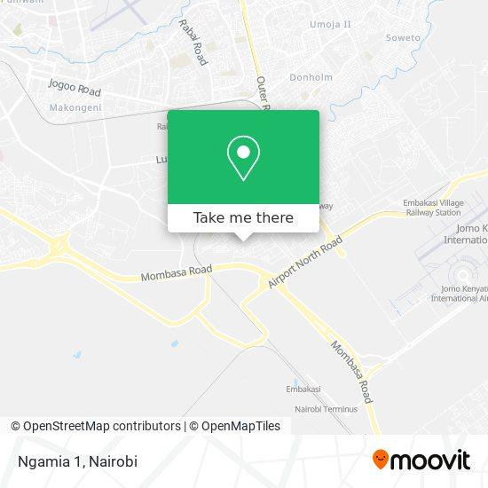 Ngamia 1 map