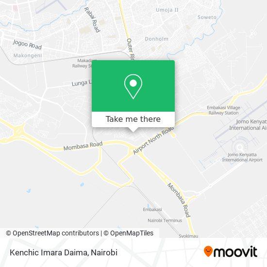 Kenchic Imara Daima map